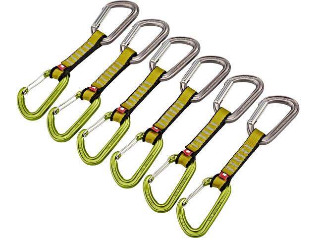 Ocun Hawk QD Combi PAD 16 Quickdraw Set 5+1 Pack Green